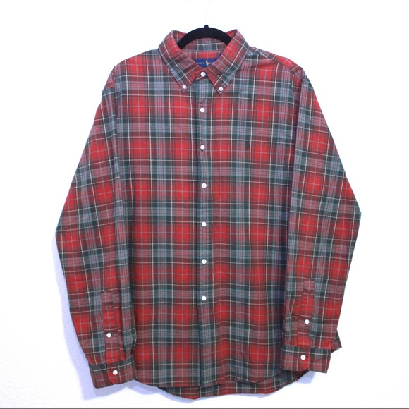 Polo by Ralph Lauren Other - Polo Ralph Lauren Red And Green Plaid Button Down